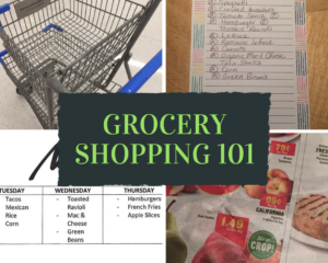 Grocery Shopping 101 - Some tips to help keep you on budget and to accomplish the task quickly and successfully