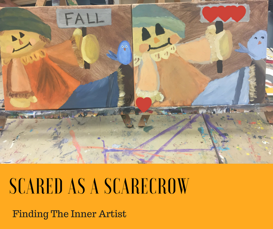 Scared As A Scarecrow - Finding the inner artist with the help of Artzy Wallz, Etc.