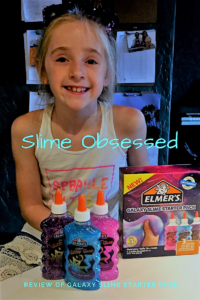Smidget with product to make slime