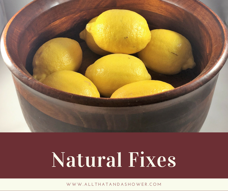 Natural Fixes - Simple things to incorporate in your everyday life